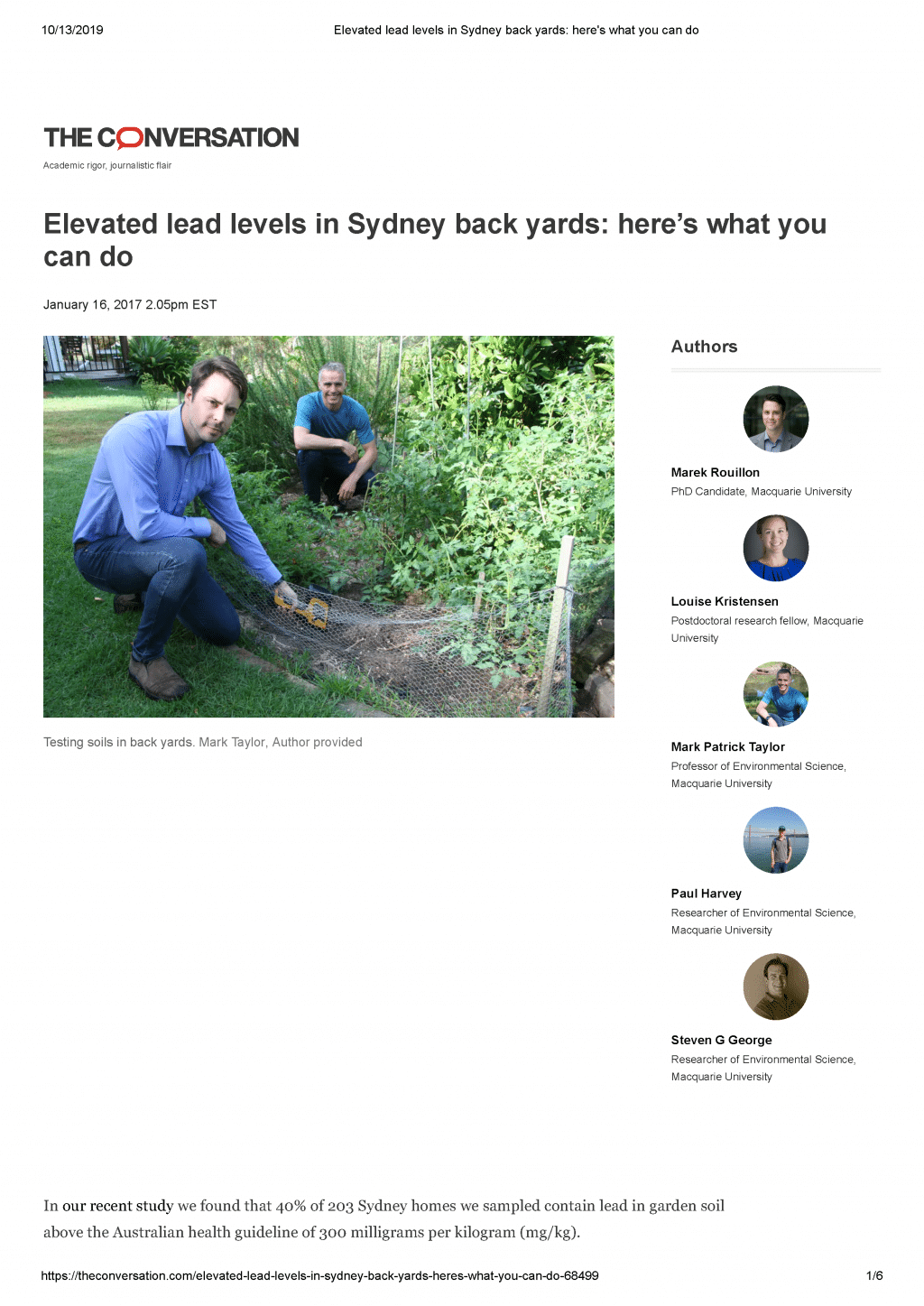 Elevated lead levels in Sydney back yards_ here's what you can do_Page_1